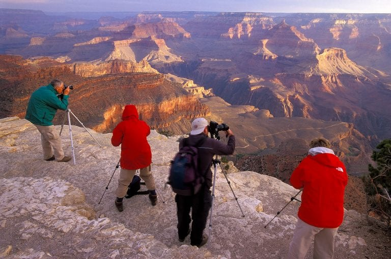 Photography workshop at the Grand Canyon